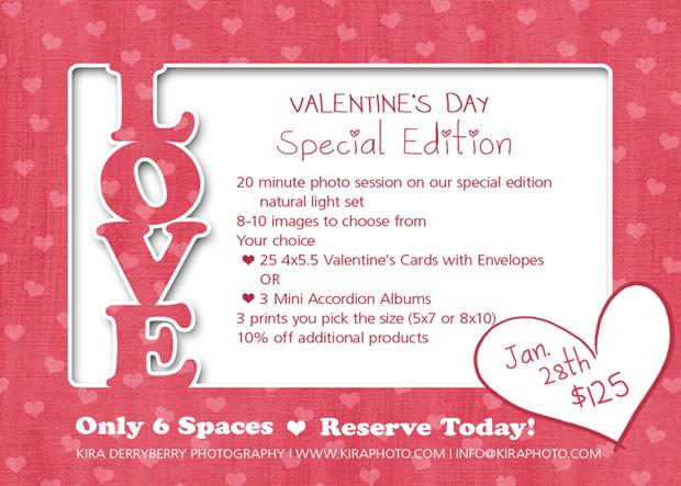 Valentine S Day Mini Sessions January 28th Kira